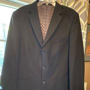 Men's black 42L suit Jacket by Haggar